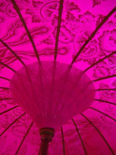 Color Fucsia - Fuchsia!!! Beach Umbrella