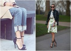 my soul is the sky: Spring Trend: How to Wear Strappy High Heel Sandals