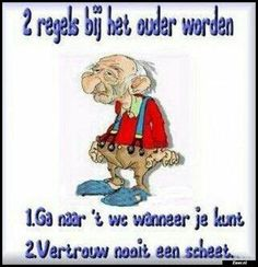 Zo is't maar net! Birthday Wishes, Happy Birthday, Irish Blessing, Good Jokes, Funny Cartoons, Good Mood, Winnie The Pooh, Funny Pictures, Life Quotes