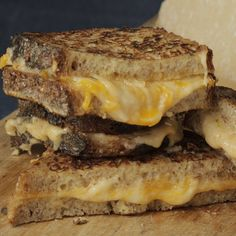 the chew | Recipe  | Mario's Makeover: Fancy Grilled Cheese Sandwiches