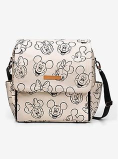 Petunia Pickle Bottom Disney Minnie And Mickey Mouse Sketch Boxy Backpack,