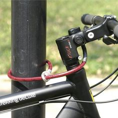 N'Lock Bicycle Lock / Secure your bikes from the dangerous trespassers with this beautifully designed N'Lock Bicycle Lock that locks beautifully following a new strategy. http://thegadgetflow.com/portfolio/nlock-bicycle-lock/