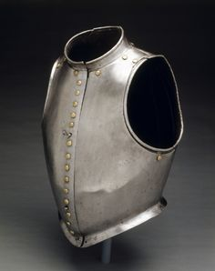 """Waistcoat"" Cuirass (Combined Breast and Backplates), c. 1580                                                North Italy, 16th century"