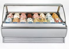 Solaris Gelato Display Case Dual Ventilation Italproget Price Reduced #Italproget