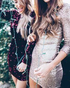 El #Glitter se apodera de esta #Navidad  #Fashion #Moda #Style #Tendencia