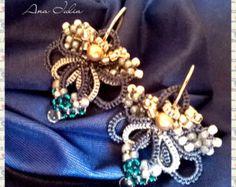 Astrid needle tatted bracelet pattern