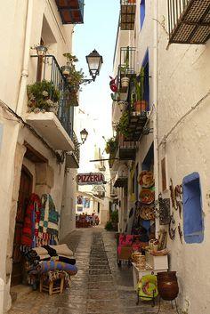 Pueblo de Peñíscola (Castellón) España