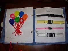 Quiet Book Ideas - the buckles are a fantastic idea - my kids are both obsessed with them!