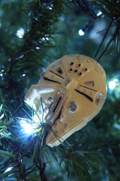 Star wars Christmas diy ornament / Millenium Falcón diy / adorno para árbol de Navidad Halcón Milenario