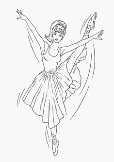 69 Barbie printable coloring pages for kids. Find on coloring-book thousands of coloring pages. Ballerina Coloring Pages, Dance Coloring Pages, Free Kids Coloring Pages, Barbie Coloring Pages, Coloring Pages To Print, Free Printable Coloring Pages, Coloring Book Pages, Coloring For Kids, Coloring Sheets