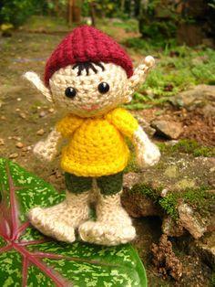 Amigurumi Elf - Crochet Pattern