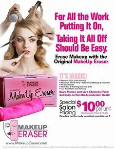 ✨ Having Trouble taking of your Makeup?? Try the Makeup Eraser with just water you'll have a clean face in a snap!!  No Chemicals...... Just Water.......... Or COME JOIN MY TEAM!!  Shop link LasDivasMUE.com 1(888)682-1223 ext 2   ✨Tienes Problemas Limpiadote el Maquillaje??? Prueba la Makeup Eraser con solo agua tienes una cara limpia de todo..... Sin Quimicos..... Solo Agua....... Solo$29 dura dos meses  Todos los Productos son Guarantizados..... O UNETE A MI EQUIPO!!!