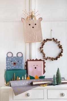 Weihnachtsgeschenke kreativ verpacken - so geht's! #weihnachten #geschenke #verpacken #geschenkeverpacken #geschenk #geschenkidee