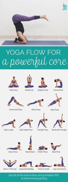 classic yoga pose #y