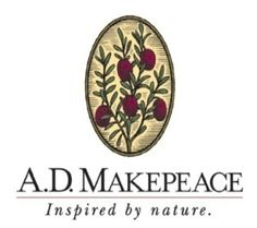 """KHJ freshened and updated the corporate logo for A.D. Makepeace, and also added the positioning line """"Inspired by nature"""" - a brand that helped transition the company from their roots as an agricultural business (cranberry farmers) into their growing role as a real estate development firm."""