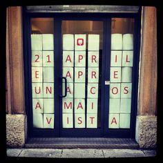 Porta Venezia in Design: il 21 aprile apre una cosa mai vista - part1 - @viaspallanzani9 #milandesignweek