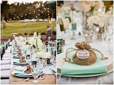 Lavender and Ash: Burlap Wedding Decor