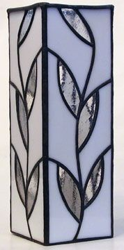 stained glass vase-visions gallery