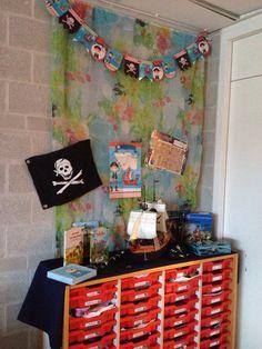 Themahoek piraten, VLL kern 7, mijn groep 3 ❤️