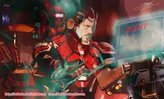 Pacific Rim and Marvel crossover - Tony Stark