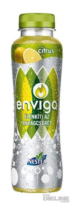 Energy drinks packaging