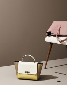 Bally Handle Bag - B Turn Small