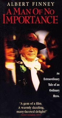 A Man of No Importance [VHS]: A Man of No Importance tells the story of a theater group in Dublin who are determined to stage a version of Salome at the church despite the objections of authorities. Shirley Anne Field, Dashiell Hammett, Michael Gambon, Richard Gere, Internet Movies, Cinema Posters, Drama Movies, Film Movie, Videos