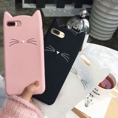 OLLIVAN For iPhone 7 case Lovely Moustache Cat case for iPhone 6 5 plus case Soft Silicon Back Cover for iPhone 7 plus Iphone 5s, Iphone 7 Coque, Iphone 5 Case, Capas Iphone 6, Iphone 7 Plus Cases, Apple Iphone, Cute Cases, Cute Phone Cases, Capa Iphone 6 Plus