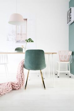 missjettle - Velvet stoel