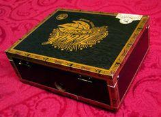 cool Cigar Box Stompbox Foot Drum Rhythm Guitar Electric Stomp ...