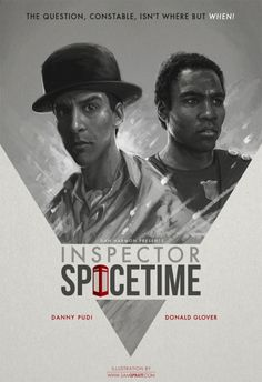 "The show within the show, ""Inspector Spacetime"" 