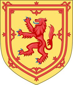 Royal Arms of the Kingdom of Scotland used from the 12th century to 1603. Used by the Kings of Scots up until the Union of the Crowns in 1603 under King James VI & I, of Scotland and England.