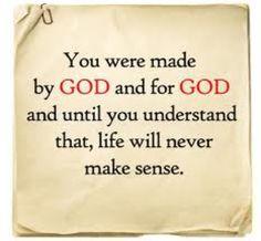 by God for God