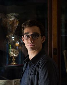 Simon Lewis as played by Robert Sheehan in The Mortal Instruments: City of Bones