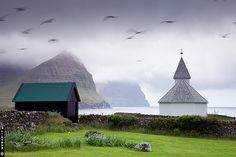 Faroe Islands...my friend is spending the next six months there!