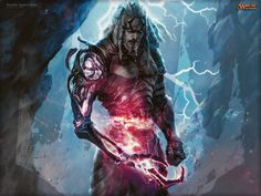Magic The Gathering Artwork by Aleksi Briclot - Mifty is Bored