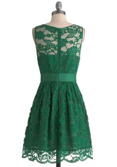 When the Night Comes Dress in Pine, #ModCloth
