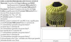 Receita de Tricô: Gola em tricô receita Vitória Quintal