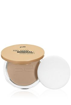 p2 cosmetics feel good mineral compact powder