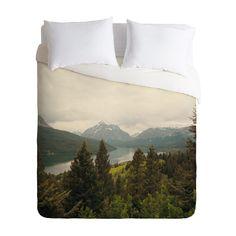 Mountain High Duvet Cover | dotandbo.com