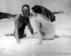 Eugene O'Neill and wife Carlotta Monterey, 1931