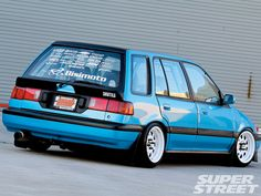 700hp AWD Civic Wagon. All of my want