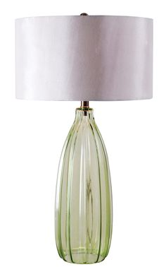 Elaine Table Lamp - http://www.kenroyhome.com/pages/product_pages/32319GRN.html