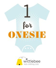 Every time you order a Wittlebee box, we donate a onesie to Baby Buggy, a nonprofit that's been helping young mothers in need for over ten years