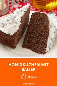 Honigkuchen mit Baiser