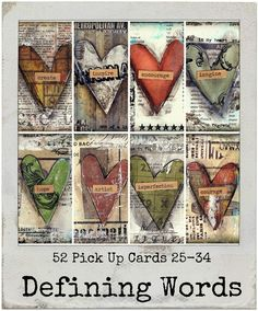 52 Pick Up Cards ***LOVE this idea. Simple. Encouraging. Great gift idea.