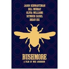 Rushmore 12x18 inches movie poster by claudiavarosio on Etsy, $19.00