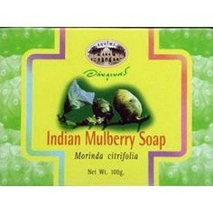 INDIAN MULBERRY SOAP BAR (pack of 2) / saving pack!!! buy now by Abhaibhubejhr. $29.99. INDIAN MULBERRY SOAP BAR  Indication : Natural anti-oxidantion qualities. Best for rejuvenating damanaged skin.  Direction : Use for regular body washing.