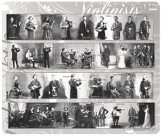 Violin Mousepad - FAMOUS CLASSICAL VIOLINISTS