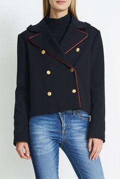 Rita Short Jersey Blazer